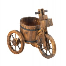 Country Wooden Tricycle Planter - $72.18