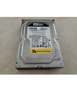 WD 500 GB WD5003ABYX-01WERA0 Hard Drive 3.5 SATA Tested and Wiped - $25.00