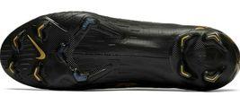 NIKE MERCURIAL VAPOR 12 ELITE FG BLACK/GOLD SIZE 12 BRAND NEW $250 (AH7380-077) image 8