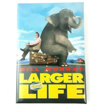 Vintage 1996 Larger Than Life Movie Pin Button Staring Bill Murray 3 x 2... - $9.99