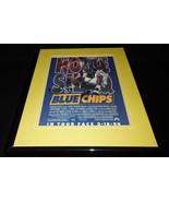 Blue Chips 1994 Framed 11x14 ORIGINAL Advertisement Shaquille O'Neal - $44.54