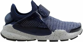Nike Sock Dart SE Premium Midnight Navy/Midnight Navy 859553-400 Men's SZ 10 - $54.27