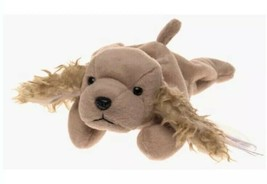 Ty Beanie Babies Spunky the Cocker Spaniel Dog Retired New with Tags - $8.90