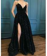 Sexy Gyps V-neck divider dress special occasion dress prom dresses - $175.00+