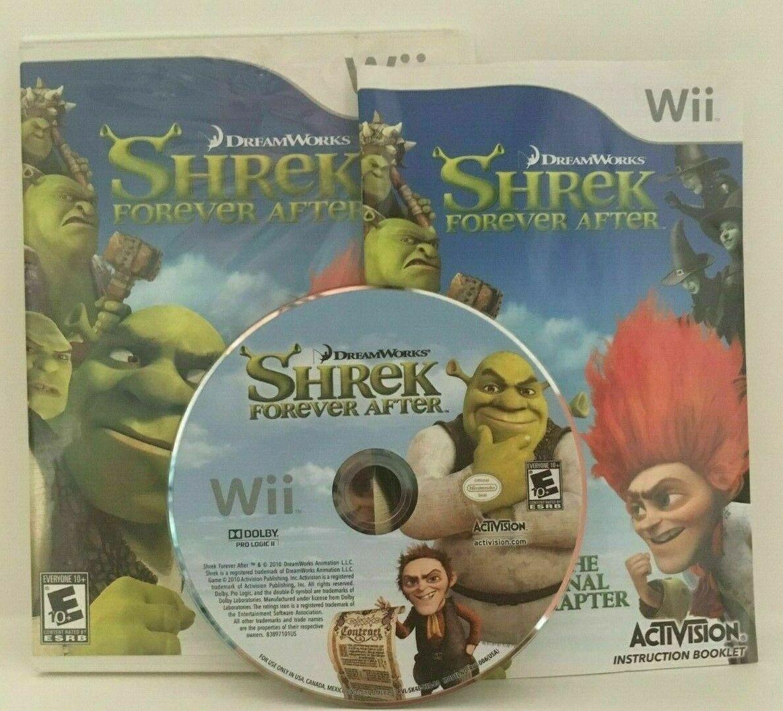 Shrek Forever After: The Final Chapter (Nintendo Wii, 2010) CIB, USA Seller