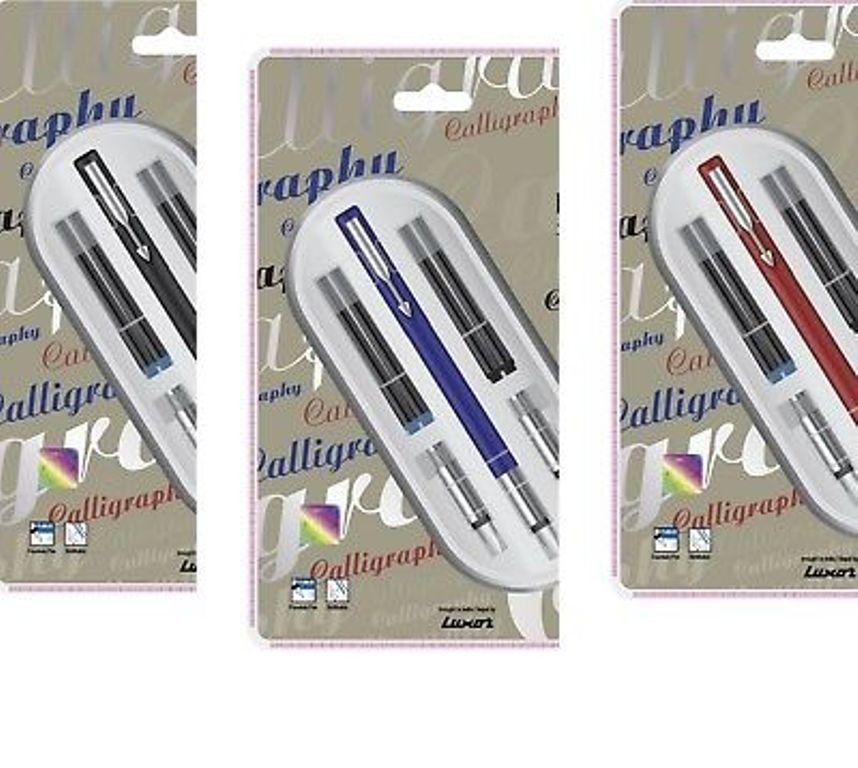 Parker Vector Matte Matt Black CT Fountain Pen Fine NIB 100/% New Original Sealed