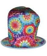 Costume Accessory- Tie-Dye Style Mad Hatter Felt Top Hat - $7.82
