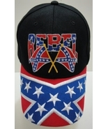 Rebel Embroidered Flag Baseball Adjustable Hat Brand New - $11.00