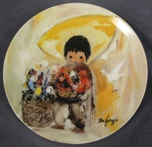 The Gentle White Dove Collector Plate Children Of The Sun Ettore Ted DeG... - $19.95