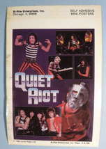 QUIET RIOT 1984 Mini-Poster Sticker - $5.98