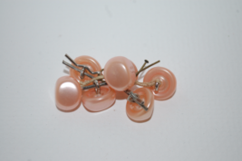 Vintage Pink Pearl Buttons - $12.00