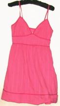 Women's Pink V Neck Dress Size S - $8.00