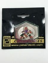 NHL Phoenix Arizona Coyotes VTG Logo Pin Peter David Kachina Coyote New NOS - $9.46