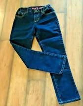 Girl's Skinny Jeans Size 8, Girl's Dark Wash Jeans, Girl's Denim Jeans - $17.82