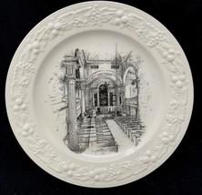 "Vintage  Homer Laughlin Decor 10"" Plate CHRIST'S CHURCH PHILADELPHIA PA ... - $40.49"