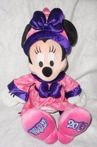 2013 Disney World Minnie Mouse Bel13ve Believe in Magic Plush Stuffed An... - $16.80
