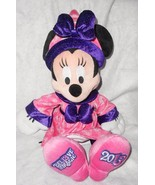 2013 Disney World Minnie Mouse Bel13ve Believe in Magic Plush Stuffed An... - $16.80