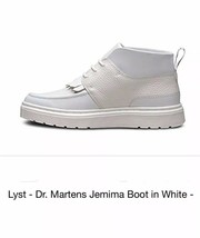 Dr. Martens Jemima blue leather chukka boots size womens 11 White - $102.57