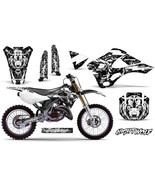 Dirt Bike Graphic Kit Decal Sticker Wrap For Kawasaki KX125 KX250 99-02 ... - $118.75