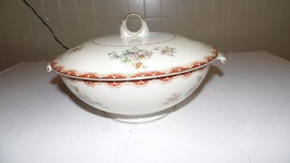 VINTAGE OCCUPIED RUTLAND ROYAL EMBASSY CHINA JAPAN CASSEROLE BOWL WITH LID - $25.73