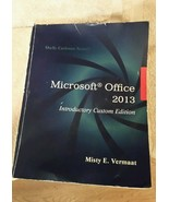 Microsoft Office 2013 Introductory Custom Edition Shelly Cashman Series - $31.19