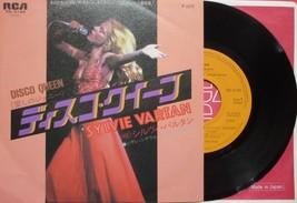 "SYLVIE VARTAN DISCO QUEEN JAPAN 7"" VINYL SINGLE RECORD - $5.98"