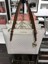 NWT MICHAEL KORS CIARA LARGE TOP ZIP TOTE BAG $398 - $95.00