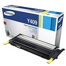 Samsung CLT-Y409S Laser Toner Cartridge for CLP-315, CLP-315W Printers - 1000 Pa - $31.00