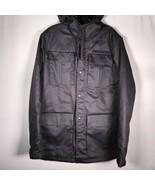 RVCA Men's Full Zip Jacket With Hood Blue - $46.39