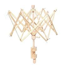 Shouyi Umbrella Bobbin Winder, Wooden Swift Yarn Winder Holder for Windi... - $37.53
