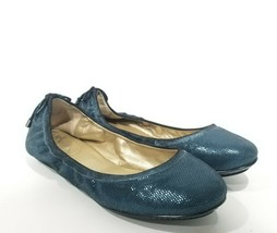 Cole Haan Maria Sharapova Size 6.5 Ballet Flats Round Toe Blue Air Bacar... - $31.36