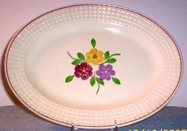 Blue Ridge Southern POTTERY-- Alexandria Relish Plate - $24.95