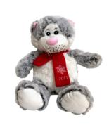Petsmart Luv-a-Pet Lucky Cat Christmas Plush Stuffed Kitty Squeaker 2015... - $19.80