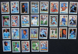 1992 Topps Micro Mini Kansas City Royals Team Set of 29 Baseball Cards - $3.99