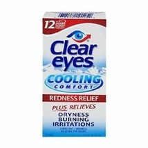 Clear Eyes Cooling Comfort Redness Relief Eye Drops (OVERSTOCK SALE) - $4.94