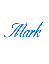 Mark-Text-Digital ClipArt-Art Clip-Name-Gift Tag-Notebook-Scrapbook-banner  - $5.00
