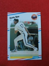 Baseball Trading Card Fleer 1988 #440 Kevin Bass (SS63) - $4.17