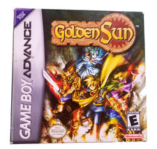 Golden Sun Complete with Box & Map Game Boy Advance Game * Nintendo GBA - $39.88