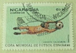 World Cup Football Soccer Collector Stamp 1982 Philatelist Portfolio NEW... - $8.79