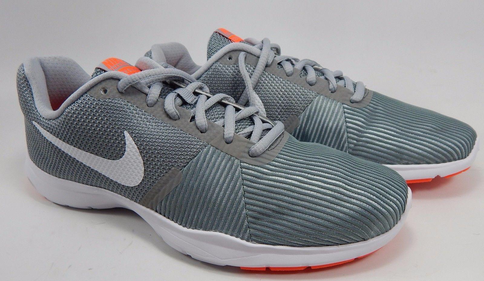 Nike Flex Bijoux Women's Running Shoes Size US 9 M (B) EU 40.5 Silver 881863-002