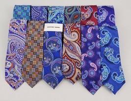 Geoffrey Beene Men's 100% Silk Ties One Size - $9.99