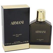 Giorgio Armani Armani Eau De Nuit Oud 1.7 Oz Eau De Parfum Spray for men image 3