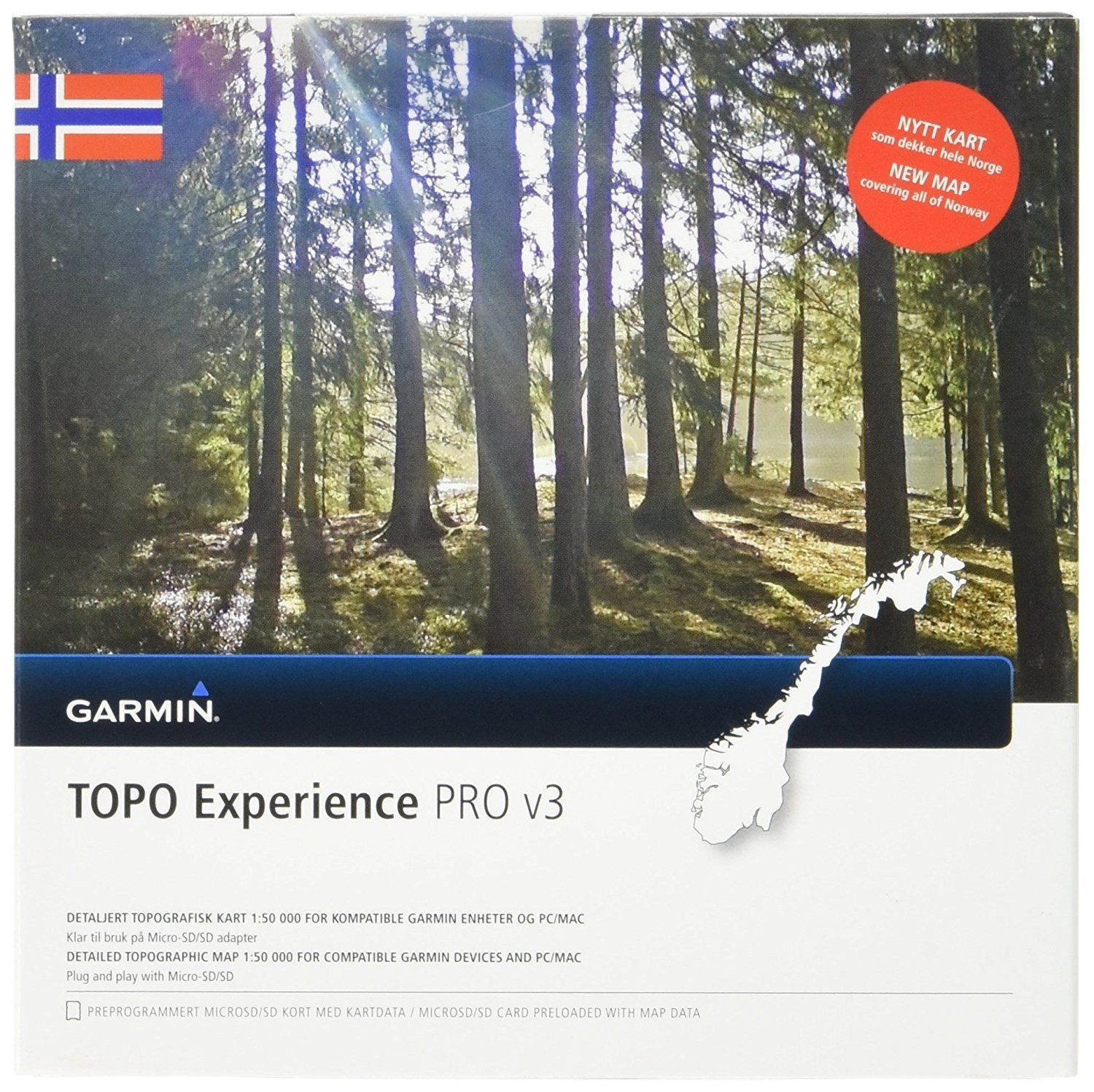 kart til garmin edge 810 Topo Norway Experience v3 Pro  microSD/SD and similar items kart til garmin edge 810