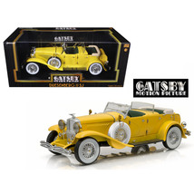 1934 Duesenberg II SJ Yellow The Great Gatsby (2013) Movie 1/18 Diecast ... - $102.94