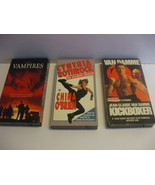 Lot 7 VHS Videos English Canada And US Only - $7.00