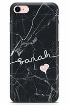 Case Warehouse iPhone 7 Case, iPhone 8 Case, Personalised Custom Name Bl... - $9.75