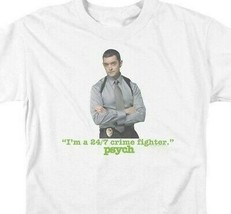 Im a 24/7 Crime Fighter T-shirt Psych TV series graphic tee NBC590 image 2