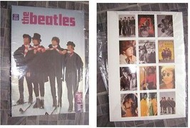 The Beatles Poster Book with 12 pull out posters - $16.99