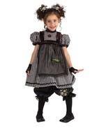Adorable Fashionista Gothic Rag Doll Girl Costume, Rubies 884738 - £23.57 GBP