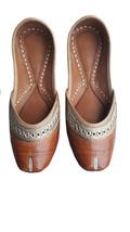 punjabi jutti handmad jutti, fashion shoes, leather shoes USA-8               - $29.99